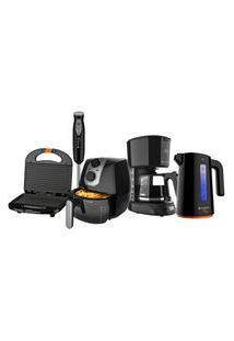 Kit Black Cozinha Completa Cadence Iii - 220V