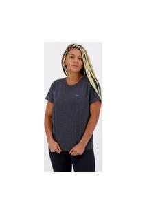 Camiseta Olympikus Comfy Feminina Grafite