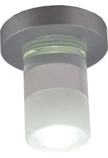 Spot Embutir Redondo 6Cmx4Cm 1W Bella Iluminação Caixa Com 5 Unidade 3500K Luz Amarela Bivolt