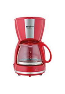 Cafeteira Britania Cp15 Inox Vermelha 127V