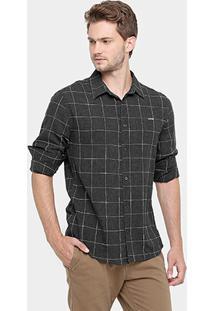 Camisa Colcci Manga Longa Xadrez - Masculino