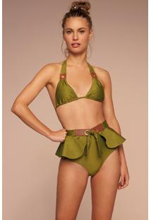 Calcinha Hot Pants Temperos Verde