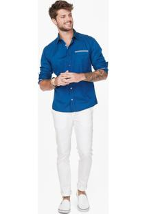 Camisa Slim Jeans Enfim