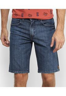 Bermuda Jeans Hang Loose 5 Pockets Hl3017 Masculina - Masculino