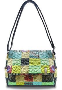 Bolsa Samantha Clover Em Patchwork Original - Multicolorido - Feminino - Dafiti