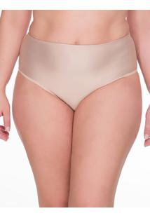 Calcinha Hot Pant Microfibra Plus Size - Skin - 1Xl