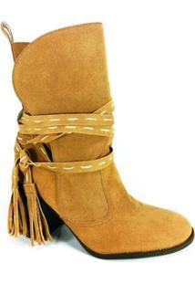 Bota Rr Shoes - Feminino-Bege