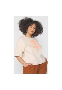 Camiseta Colcci Revolution Off-White