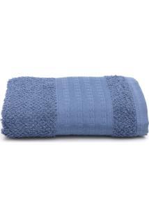 Toalha De Rosto Santista Home Design Fluffy Azul