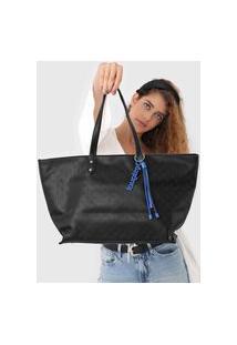 Bolsa Desigual Sacola Shopping Bag Nurs Preta