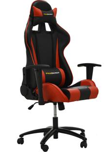Cadeira Office Pro Gamer V2 Preta E Vermelha Rivatti Móveis