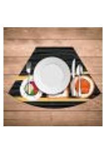 Jogo Americano Para Mesa Redonda Wevans Sushi Kit Com 6 Pçs