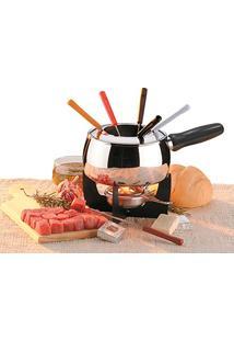Conjunto Para Fondue De Carne Aço Inoxidável 11 Peças 1241116 Brinox