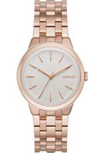 Relógio Dkny Ny2383/4Kn Feminino - Feminino-Rose Gold