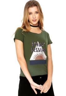 Camiseta Redley Suset Verde