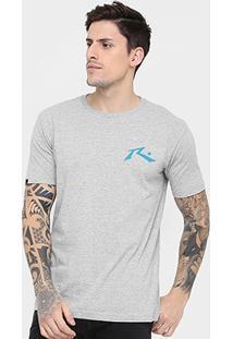 Camiseta Rusty Silk Montana - Masculino