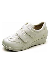 Tênis Sapatênis Gh Calçados Enfermagem Consultórios Branco
