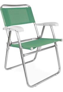 Cadeira Master Alumínio Fashion - Anis - Unissex-Verde Claro