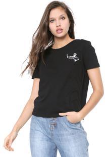 Camiseta Cavalera Bolso Preta