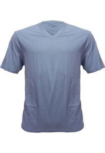 Rx Camiseta Alma De Praia Gola V Flame - Masculino
