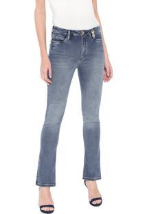 Calça Jeans Carmim Bootcut Emana Azul