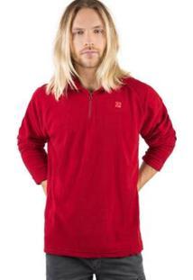 Casaco Soft Taco Masculino - Masculino-Vermelho