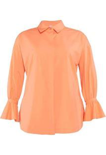 Camisa Vista Embutida Almaria Plus Size Miss Taylo