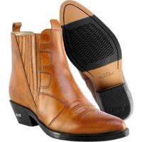 60be052251 Bota Texana Hb Agabe Boots Lt Havana Masculina - Masculino-Café