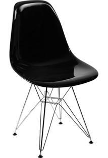 Cadeira Eames Side L Preta