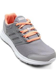Tênis Adidas Galaxy 4 Feminino - Feminino-Cinza