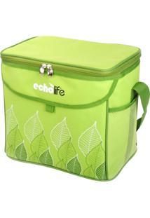 Bolsa Térmica Green 31 Litros Com Alça Ajustável - Echolife