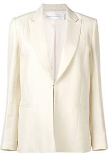 Victoria Victoria Beckham Blazer Com Fechamento Oculto - Branco