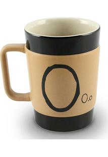 Caneca Coffe To Go- O 300Ml-Mondoceram - Pardo