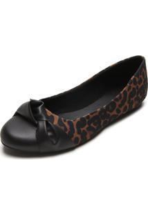 Sapatilha Dafiti Shoes Onça Preta
