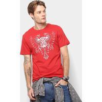 1da1fd34df Camiseta Cavalera Estampa Águia Masculina - Masculino