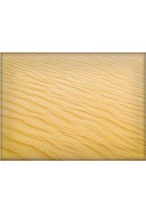 Jogo Americano Decorativo, Criativo E Descolado | Textura De Areia - Tamanho 30 X 40 Cm