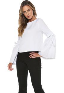 Camisa Lez A Lez Amarração Branca
