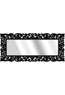 Espelho De Parede 15177P Preto 70X158 Art Shop