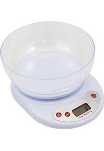 Balança Digital De Cozinha Western Bc-21 5Kg Branco