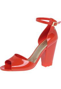 Sandália Petite Jolie Twisty Vermelha