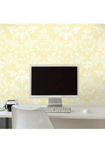 Papel De Parede Lilac Yellow