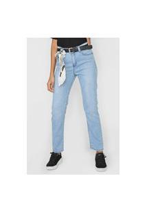 Calça Jeans Cantão Skinny Estonada Azul