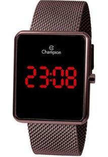 Relógio Champion Digital Feminino - Feminino-Lilás