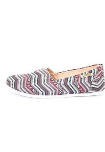 Alpargata Quality Shoes 001 Étnica Azul - Tricae