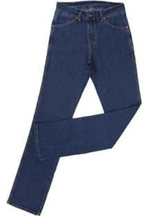 Calça Jeans Tassa Cowboy Cut Masculina - Masculino-Marinho