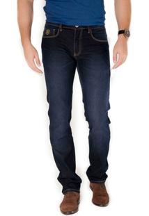 Calça Básica Jeans Azul Via Tolentino - Masculino