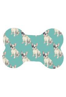 Tapete Love Decor Wevans Pet Bulldogs Blue Azul