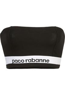 Paco Rabanne Sutiã Tomara Que Caia - Preto