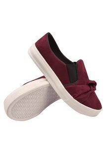 Tênis Feminino Plataforma Moda Sneaker Sapatenis Vermelho