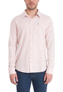 Camisa Mill River Linen Shirt Regular